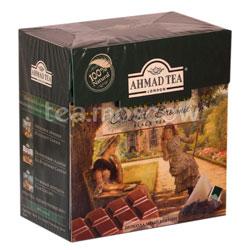 Чай Ahmad Tea Chocolate Brownie/ Шоколадный Брауни в пирамидках 20 шт.