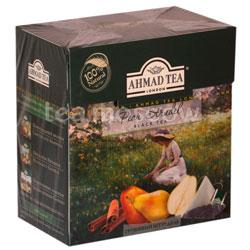 Чай Ahmad Tea Pear Strudel Грушевый штрудель в пирамидках 20 шт.