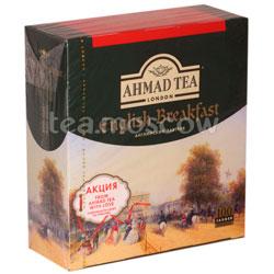 Чай Ahmad Пакет Английский завтрак. Черный, 2гр*100 шт