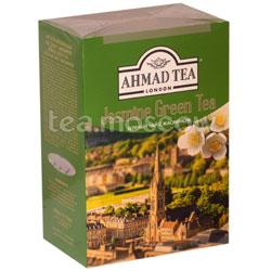 Чай Ahmad Листовой Зеленый с жасмином. 200 гр