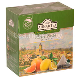 Чай Ahmad Tea Citrus Sorbet Цитрусовый сорбет в пирамидках 20 шт.