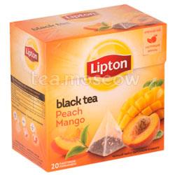 Чай Lipton Peach Mango фруктовый в пакетиках