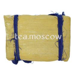 Пуэр в плитках в бамбуковом листе №2 (шу) 250 г