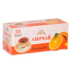 Чай Азерчай Апельсин черный 25 пак.