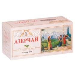 Чай Азерчай Черный с чабрецом 25 пак.