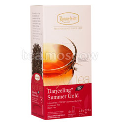 Чай Ronnefeldt Joy of tea Darjeeling Summer Gold/Дарджилинг Саммер Голд в пакетиках 15 шт.х 2,5 гр