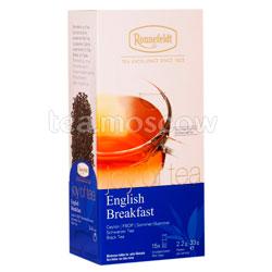 Чай Ronnefeldt Joy of tea English Breakfast/ Английский завтрак в пакетиках 15 шт.х 2,2 гр
