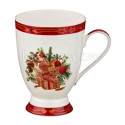 Кружка Lefard Christmas Collection 300 мл красная (586-296)