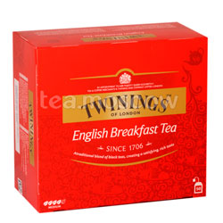 Чай Twinings English Breakfast Tea (50 пакетиков)