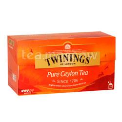 Чай Twinings Цейлон (25 пакетиков)
