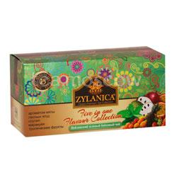 Чай Zylanica Ассорти Зеленый 25 пакетиков