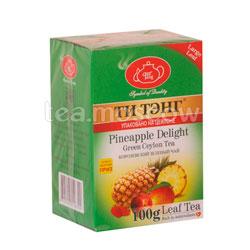 Чай Ти Тэнг Зеленый Тропическая Смесь с Ананасом 100 гр