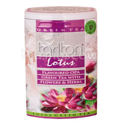 Чай Tarlton зеленый Lotus 200 гр ж.б.