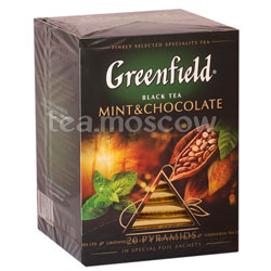 Чай Greenfield Mint Chokolate Пирамидки
