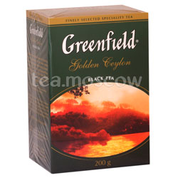 Чай Greenfield Golden Ceylon 200 гр