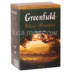 Чай Greenfield Classic Breakfast 200 гр