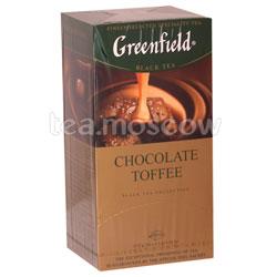 Чай Greenfield Chocolate Toffee Пакетики