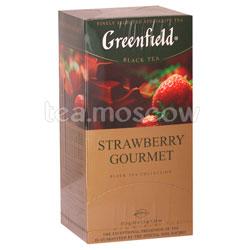 Чай Greenfield Strawberry Gourmet Пакетики