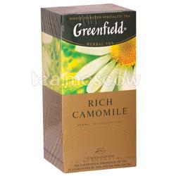 Чай Greenfield Rich Camomile Пакетики