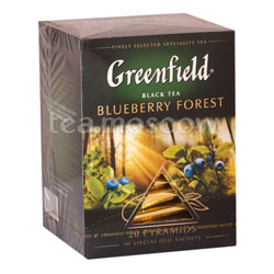 Чай Greenfield Blueberry Forest Пирамидки