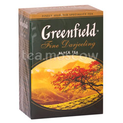 Чай Greenfield Fine Derjeeling 100 гр