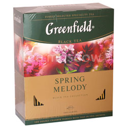 Чай Greenfield Spring Melody 100 пакетиков