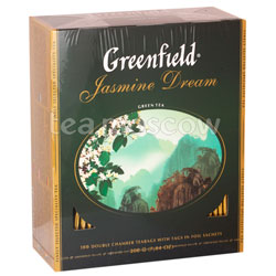 Чай Greenfield Jasmine Dream 100 пакетиков