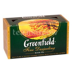 Чай Greenfield Fine Derjeeling Пакетики