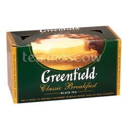 Чай Greenfield Classic Breakfast Пакетики