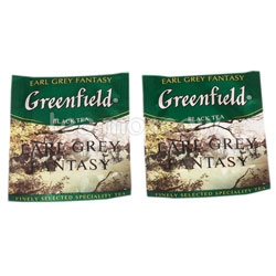Чай Greenfield Earl Grey Fantasy в Пакете