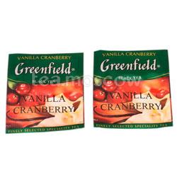Чай Greenfield Vanilla Cranberry в Пакете