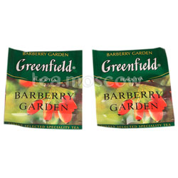 Чай Greenfield Barberry Garden в Пакете