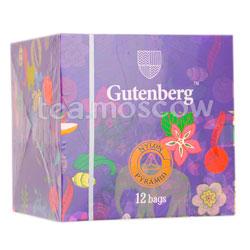 Чай Gutenberg Ассам Кюинг TGFOPI в пирамидках 12 шт