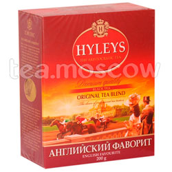 Чай Hyleys Английский Фаворит черный  200 гр
