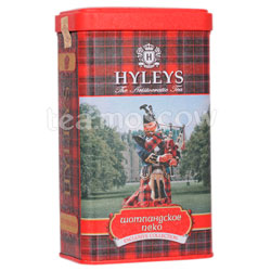 Чай Hyleys Шотландское Пеко черный 125 гр ж.б.