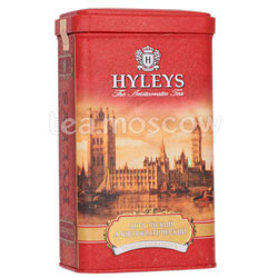 Чай Hyleys Английский Аристократический черный 125 гр ж.б.