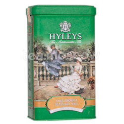 Чай Hyleys Английский зеленый 125 гр ж.б