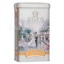 Чай Hyleys Эрл Грей черный крупнолистовой 125 гр ж.б