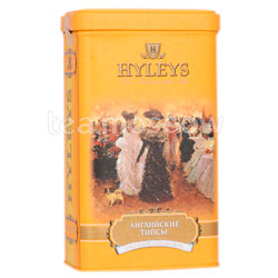Чай Hyleys Английские Типсы черный 125 гр ж.б.