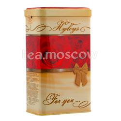 Чай Hyleys в подарочной упаковке черный 125 гр ж.б