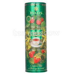 Чай Hyleys Чайный Сомелье - малина, ваниль, клубника 135 гр ж.б.