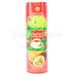 Чай Hyleys Чайный Сомелье - лайм, земляника, маракуйя 135 гр ж.б.