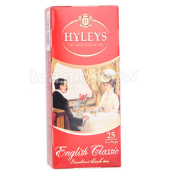 Чай Hyleys Английский Классический черный в пакетиках 25 шт х 1,5г