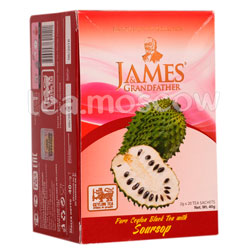 Чай James Grandfather Soursop черный в пакетиках