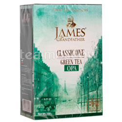 Чай James Grandfather Greentea. Зеленый, 100 гр