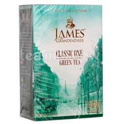 Чай James Grandfather Greentea. Зеленый, 200 гр