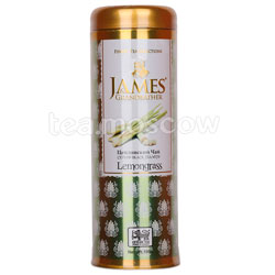 Чай James Grandfather Lemongrass. Черный, ж.б. 100 гр