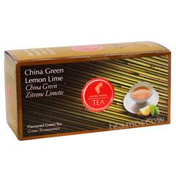 Чай Julius Meinl China Green Lemon Lime (Зеленый с Лимоном и Лаймом)
