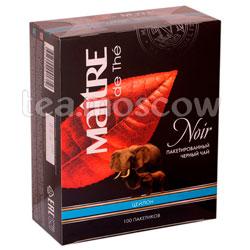 Чай Maitre Noir 100 пак