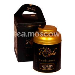 Подарочный чайный набор Riche Naur Ceylon Sun Valley 400 гр ж.б. и кулон